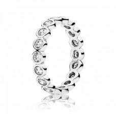 Inel Argint cu Cristale, Cercuri