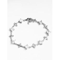 Bratara Argint Reglabila cu Cristale