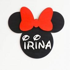Decoratiune Personalizata cu Nume - personaj Disney
