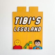 Decoratiune Personalizata cu Nume - Lego