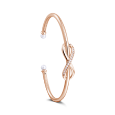 BRATARA DRAGOSTE INFINITA ROSE GOLD
