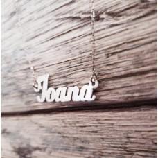 Colier personalizat din Argint - Ioana