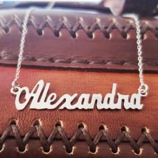 Colier Argint personalizat Alexandra