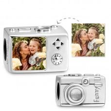 Charm Argint personalizat Aparat foto