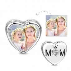 Charm Argint personalizat MOM