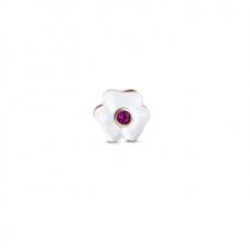 Floare SAKURA - Charm mic pentru Medalion Plutitor