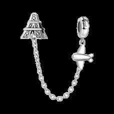 Lant de Siguranta Calatorie catre Turnul Eifel -Argint 925