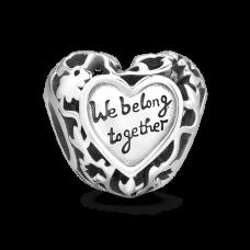 Charm Argint - We Belong Together