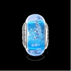Albastru Frazil Sticla de Murano