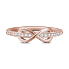 INEL DRAGOSTE INFINITA ROSE GOLD