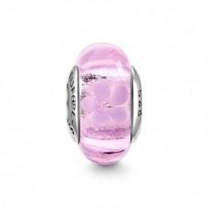 Pink Jasmine Murano Glass