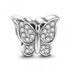 Charm Argint Fluture